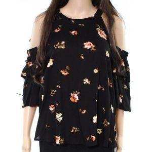 "Nordstrom Brand ""Elodie""  floral blouse"